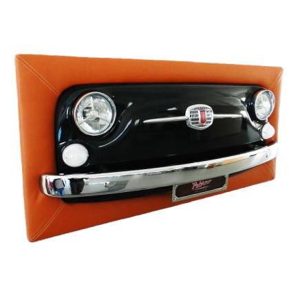 quadro-fiat-500-vernice-verde-pelle-arancio-palermo-design-arredo-pisticci-matera-basilicata-2